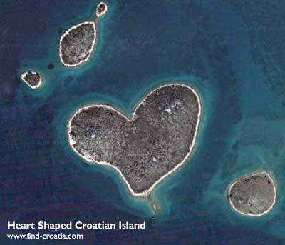 Heart-Shaped Croatian Island | Croatia Travel Blog
