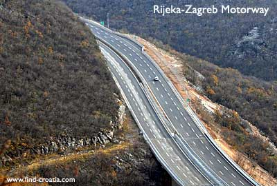 Rijeka-Zagreb highway section opened