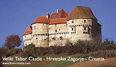 The Castle Veliki Tabor restored