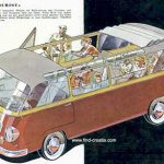 Convertible Tourist Van from 1964