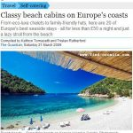 Croatia in Europe's Best Beach Cabins