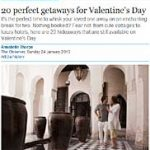 Dubrovnik among 20 perfect getaways for Valentine's Day