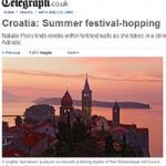 Summer festivals along the Croatian Adriatic