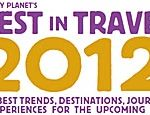 lonely planet best 2012