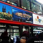 Croatian National Tourist Board advert on London's Double-Decker Bus