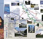 cycling map koprivnica