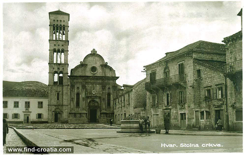 Church in Hvar (1910)