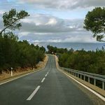 New ring-road around the town of Jelsa on the island of Hvar