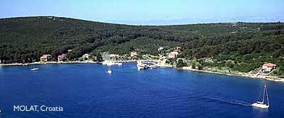 landscape on molat island