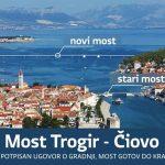 New Trogir - Ciovo bridge soon