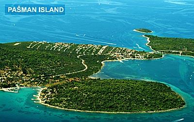Pasman Island, Zadar Archipelago