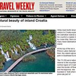 plitvice lakes in travel weekly 2013