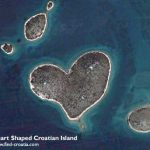 Heart-Shaped Croatian Island