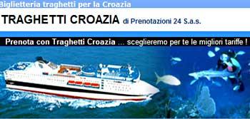 Tragetti Croazia