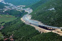 Zagreb Split Dubrovnik Motorway Section Dugopolje Sestanovac Opened