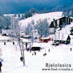 Skiing in Gorski Kotar