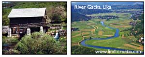 gacka river lika
