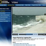 Zadar Sea Organ, powered by lapping waves of Adriatic Sea - National Geographic Video
