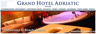 opatija hotel adriatic wellness