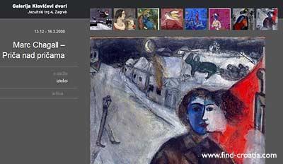 zagreb marc chagall