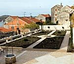 Medieval monastery garden opened in Sibenik, Croatia