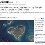 Croatian heart-shaped island becomes hit with lovers