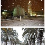 Snow in Dalmatia