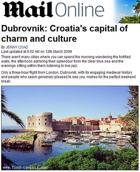 Dubrovnik: Croatia's capital of charm and culture