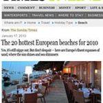 Hvar Beach Club in 20 hottest European beaches for 2010
