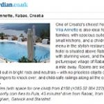 Vila Annete in Rabac among Stylish family hotels in Europe