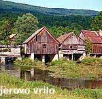 Village of Sinac near Otocac and Majerovo Vrilo