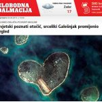 Galesnjak - heart shaped island