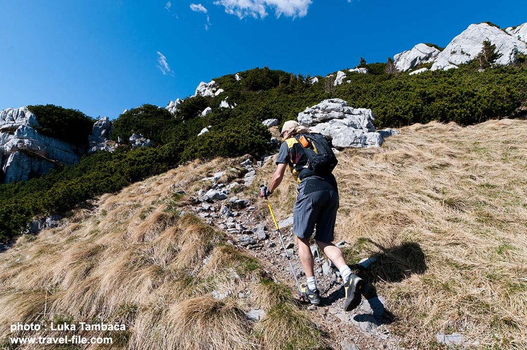 hiking in Risnjak