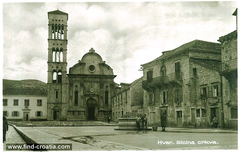 Church in Hvar (1910)