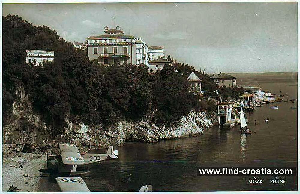 hydroplane-rijeka-beach1940