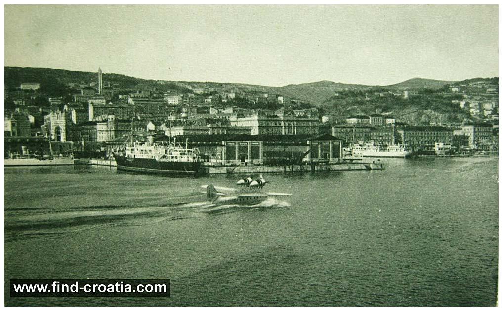 hydroplane-rijeka-harbour1931