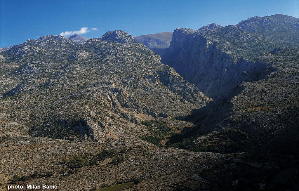 landscape of Paklenica